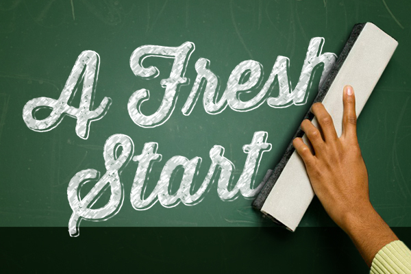 Salem First Friends Church – Sermons Series – A Fresh Start